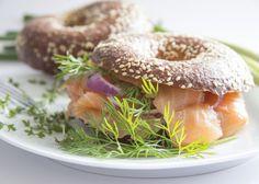 Burgers de saumon