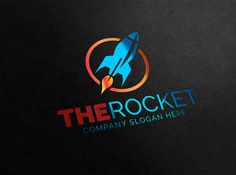 Rocket Logo by eSSeGraphic on Creative Market