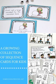 Task Shakti - A Earn Get Problem Sequencing Cards Help Preschoolers Recognize Patterns And Order In Their Every Day Life, And These Sequencing Activities Will Make Learning Fun Sequencing Cards, Sequencing Activities, Preschool Literacy, Preschool Education, Preschool Printables, Hands On Activities, Preschool Worksheets, Art Education, Free Printables