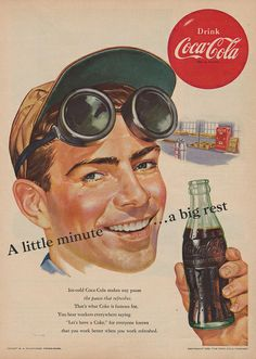 Coca-Cola - A Little Minute…a Big Rest (1952)