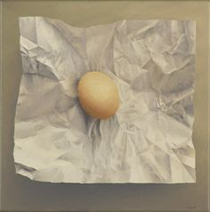 Click image to view full size painting. Egg, Painting, Image, Eggs, Painting Art, Paintings, Egg As Food, Painted Canvas, Drawings