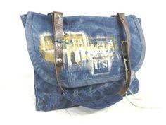 J.AUGUR ジュディーオーガー ショルダーバッグ BAG ヴィンテージ - ヤフオク! Handmade Purses, Denim Bag, Handbag Accessories, My Friend, Cloths, Messenger Bag, Sew, Handbags, Tote Bag
