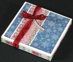 """Snowman Snow Globe Box""  -  Paper Wishes® Weekly Webisodes, Scrapbooking Videos"