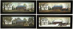 Billy Jacobs Four Seasons Prints - Kruenpeeper Creek Country Gifts