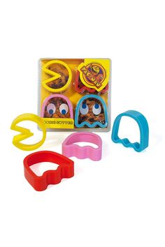 Pac-Man Cookie Cutters.
