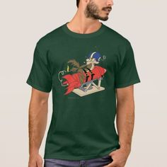 Wile E. Coyote Launching Red Rocket T-Shirt - click/tap to personalize and buy