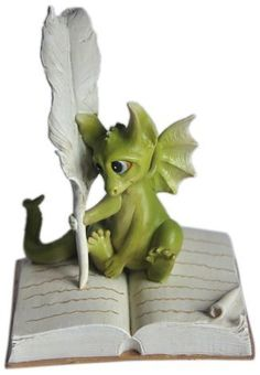 Top Collection Enchanted Story Fairy Garden Dragon Writing Outdoor Statue by Top Collection, http://www.amazon.com/dp/B00BP5KMRA/ref=cm_sw_r_pi_dp_twKMrb1W1M8S6