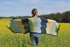 Beach Day Blanket Shawl pattern by Cheryl Ann Wartman Shawl Patterns, Knitting Patterns, Blanket Shawl, Aran Weight Yarn, Knitted Shawls, Beach Day, Picnic Blanket, Wool, Crochet