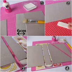 Timestamps DIY night light DIY colorful garland Cool epoxy resin projects Creative and easy crafts Plastic straw reusing ------. Diy Arts And Crafts, Diy Crafts To Sell, Easy Crafts, Scrapbook Cover, Scrapbook Albums, Scrapbooking, Cardboard Crafts, Paper Crafts, Handmade Books