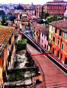 Perugia, acquedotto, una delle viste più belle!
