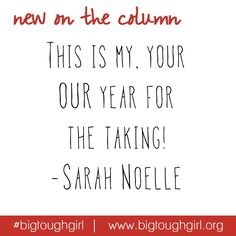 Sarah is up on #TheColumn today with her word for 2015.  Encouraging us all to be OPEN to everything that will cross our path this year and to use it to continue our forward movement!!! Thank you @sunshinebottle for your powerful and inspiring thoughts for the upcoming year!!! http://www.bigtoughgirl.org/blog/2015/1/19/open  #sunshine #ashimmerofsunshine #bigtoughgirl #blog #open #2015 #olw