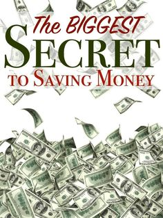 The BIGGEST SECRET to Saving Money (you won't believe what it is!)