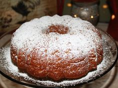 Pumpkin Bundt Cake   This cake has the smell of fall and it is just so beautiful. It makes me want cooler weather!