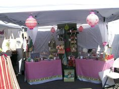 Craft Fair table display