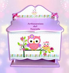 caja porta pañales para tu bebé o regalo baby shower Diy Storage, Storage Chest, Regalo Baby Shower, Decoupage, Baby Design, Toy Chest, Toys, Home Decor, Country