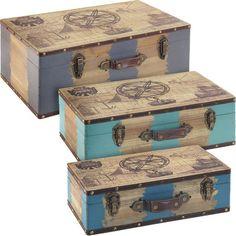 3-Piece Explorer Suitcase Set