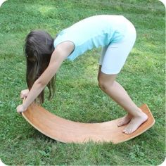 Rocking Balance Board, Small in any wood :)