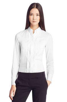 another fabulous white shirt. corporate fashion. CORMONY.