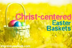 So many fun faith-filled gifts for Easter baskets! LOVE.