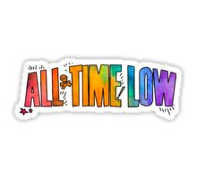 All Time Low - Paint Design Sticker