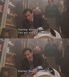 You will not die Stanely!!!