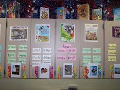 WOW words- could write down new vocab/hard words for every whole group/guided reading book each week during reading discussions. Use page protectors to hang books up Vocabulary Instruction, Teaching Vocabulary, Vocabulary Wall, Vocabulary Ideas, Vocabulary Parade, Academic Vocabulary, Vocabulary Building, Reading Activities, Teaching Reading