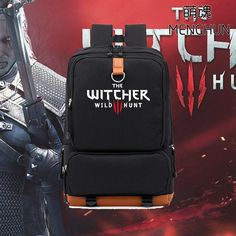 Don't forget, retro games isn't all that we sell! The Witcher Wild ... http://www.retroarkayde.com/products/the-witcher-wild-hunt-backpack?utm_campaign=social_autopilot&utm_source=pin&utm_medium=pin #gaming