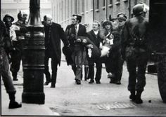 """❖ January 30, 1972 ❖ In Londonderry, Northern Ireland, 13 unarmed civil rights demonstrators are shot dead by British Army paratroopers in an event that became known as """"Bloody Sunday."""" The protesters, all Northern Catholics, were marching in protest of the British policy of internment of suspected Irish nationalists. British authorities had ordered the march banned, and sent troops to confront the demonstrators when it went ahead."""