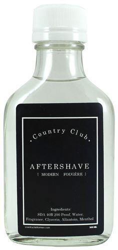 Country Club for Men Modern Fougére Aftershave Splash Shaving & Grooming, Wet Shaving, Aftershave, Fragrances, Personal Care, Club, Country, Modern, Beauty