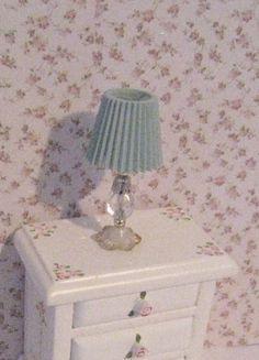 Miniature lamp  Bedside table lamp por Insomesmallwayminis en Etsy