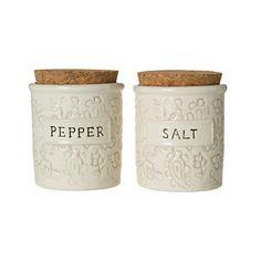 Batik Salt & Pepper Cellars