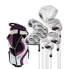 Find Believe Ladies Complete Golf Set - Purple - Right-Handed online. Shop the latest collection of Believe Ladies Complete Golf Set - Purple - Right-Handed from the popular stores - all in one Best Golf Club Sets, Best Golf Clubs, Ladies Golf Clubs, Golf Clubs For Sale, Golf Clubs For Beginners, Sports Games For Kids, Womens Golf Shoes, Golf Gifts, Golf Ball