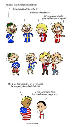 Trans Fear - Scandinavia and the World Funny Art, The Funny, Funny Jokes, Hilarious, Hetalia, Satw Comic, 4 Panel Life, History Memes, Funny Comics