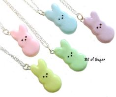 Peeps necklace