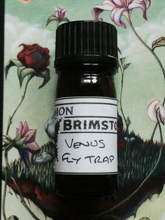 Venus Flytrap Perfume Oil by CommonBrimstone. Orchid, honey, pink pepper, caramel, and ylang ylang. Utterly intoxicating perfume.