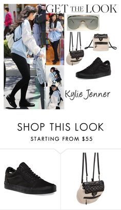 """""""Kylie Jenner Calabasas April 28, 2016"""" by valenlss ❤ liked on Polyvore featuring Porsche, Vans and Chanel"""