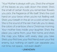 I miss my mom every day but some days I just physically hurt. I want to talk to her give her a hug laugh and joke with her. She was the best. The closer the holidays get the harder it is. God please let my mom know how much I love her and need her and how very much she is still missed. :(