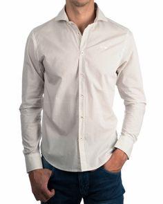 Camisas hombre Armani Jeans - Beige - Topitos