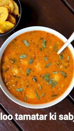 Aloo Recipes, Curry Recipes, Vegetarian Recipes, Potato Recipes, Pakora Recipes, Paratha Recipes, Indian Veg Recipes, Gujarati Recipes, Gujarati Sabji Recipe