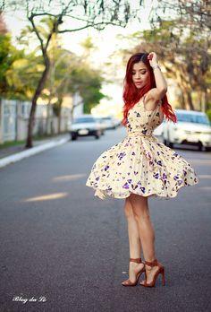 Blog da Lê-Moda e Estílo: Look - Cute Dress