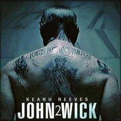 Fortis fortuna adiuvat fortune favor the bold keanu for John wicks back tattoo