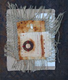 Natalie Magnin - Zamirte Textiles - Textile and Fiber Art: rust dyeing