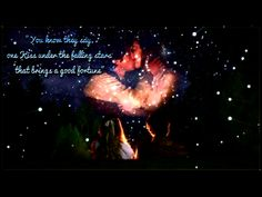 "Alice and Cyrus- ""You know they say, one kiss under the falling stars that brings you good fortune.""-Cyrus"