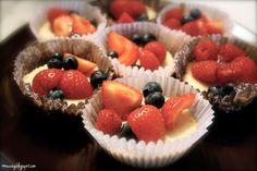 muc.veg: vegan cheesecake-cupcakes with fresh berries