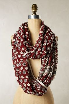Spangled Garden Infinity Scarf - anthropologie.com #anthrofave