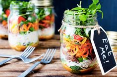How to make healthy jar lunches that won't go soggy ( and 13+ recipes!)| Mum's Grapevine