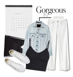 """""""Gorgeous Days..."""" by sweet-jolly-looks ❤ liked on Polyvore featuring Gap, MM6 Maison Margiela, Alexander Wang, Converse, casual, sneakers, gap and ssense"""