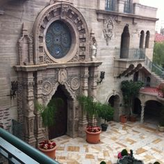 Chapel in The Mission Inn Hotel. Located in Riverside, California