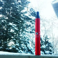 Its cold outside stay warm with the #trifectavaporizer #stayfrosty #snow #whiterhino #vape #vapepen #whiterhinolife #personalvaporizer