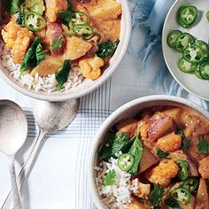 Buttermilk-Vegetable Curry | Dinnertime will be packed with flavor when our vegetable curry is on the menu.